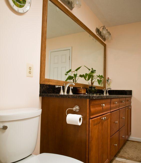 bathroom mirror repair - haye's plumbing