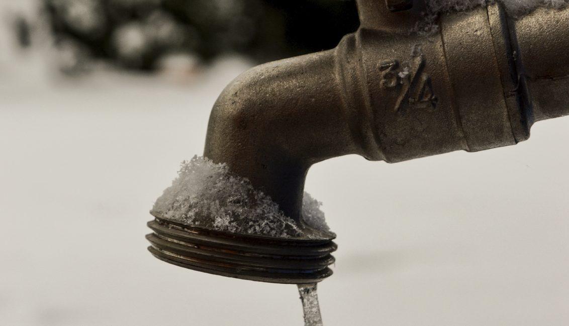 Freezing faucet